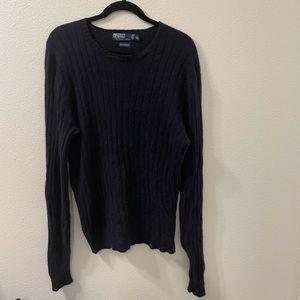 Polo Ralph Lauren cashmere sweater blue XL